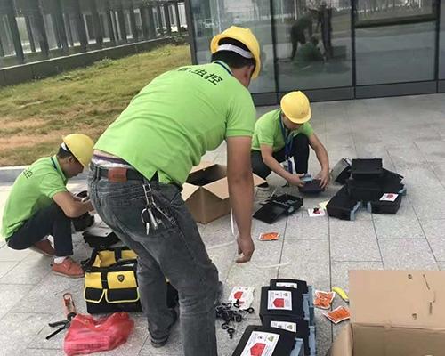 赣州灭鼠施工现场